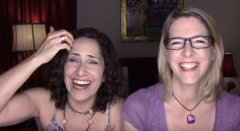 Lacie and Robin - Ask A Lesbian Couple: Who's Boss, Too Old for Love, Adopt Her Kids