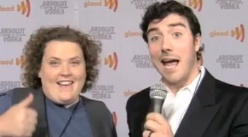 GLAAD Media Awards - Fortune Feimster and Daniel Leary take us on a GLAAD magic carpet ride