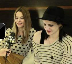 Uh Huh Her - Band Crush  (NylonTV Interview)
