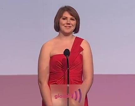 GLAAD Media Awards - Katy Butler's Acceptance Speech