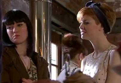 Tilly & Jen (Hollyoaks) - 13 April 2012