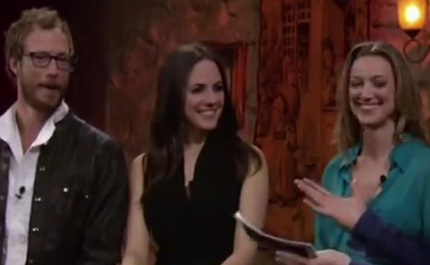 Lost Girl - Zoie & Anna - Finale Pre Show (Interview)