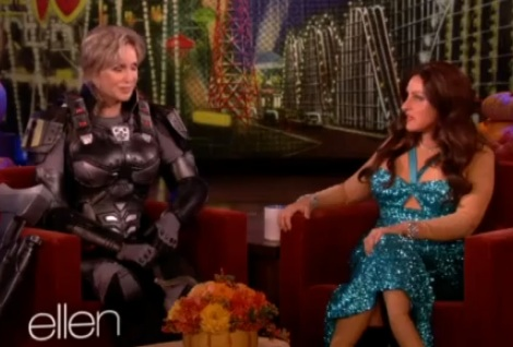 The Ellen Show - Jane Lynch, Mark Twain Prize and coming out