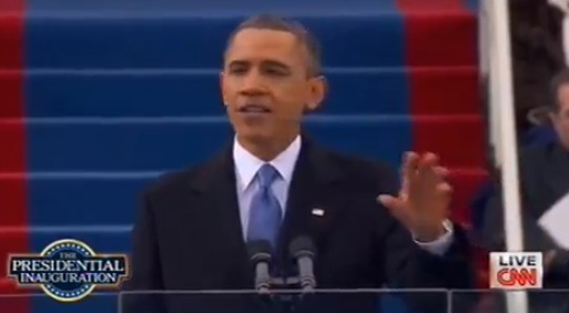 Obama: First President To Mention Gay Rights In Inaugural Speech