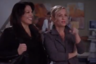 Callie & Arizona (Grey's Anatomy) - Season 9, Ep 18 - Part 1