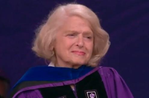 Edith Windsor, DOMA Plaintiff, Accepts Presidential Medal At NYU Graduation