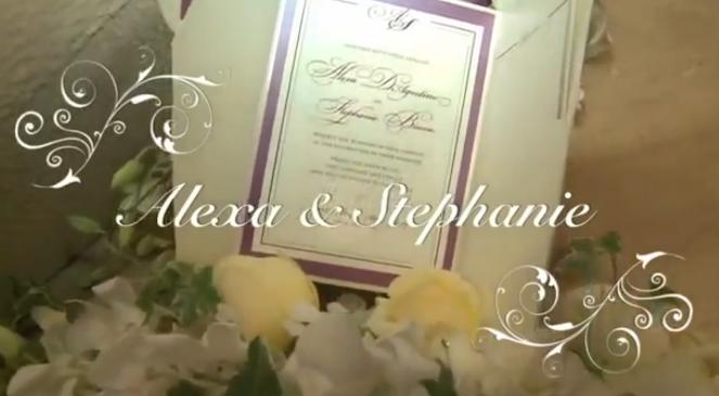 Alexa and Stephanie - Wedding Ceremony