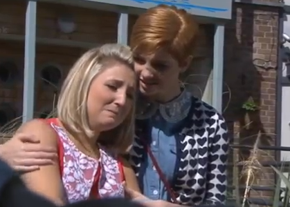 Tilly & Esther (Hollyoaks) - 16 August 2013
