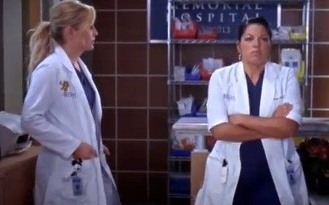 Callie & Arizona (Grey's Anatomy) - Season 10, Episode 2 (Part 1)