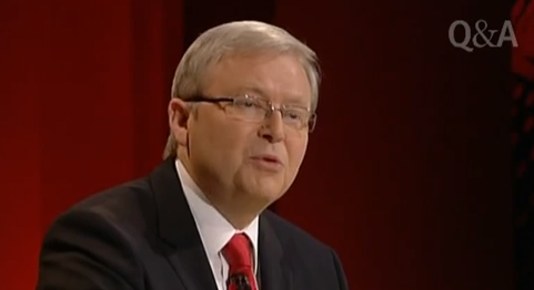 Kevin Rudd delivers same-sex smackdown on Q&A