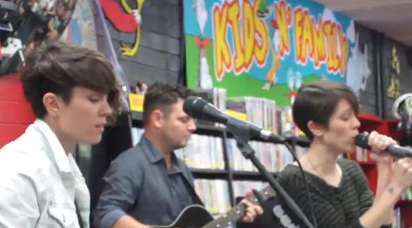 Tegan & Sara - Goodbye, Goodbye (Live @ Zia Records)