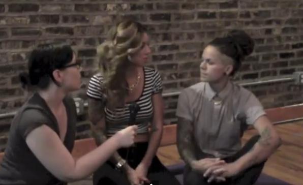tello talks to: Whitney Mixter and Sara Bettencourt