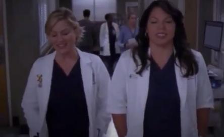 Callie & Arizona (Grey's Anatomy) - Season 10, Episode 11 (Part 1)