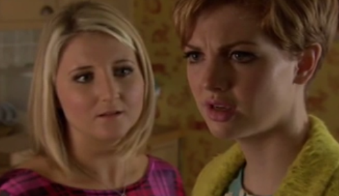 Tilly & Esther (Hollyoaks) - 13 December 2013