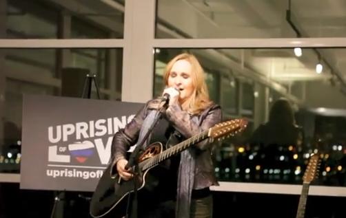 Melissa Etheridge - Uprising of Love (Live Debut)