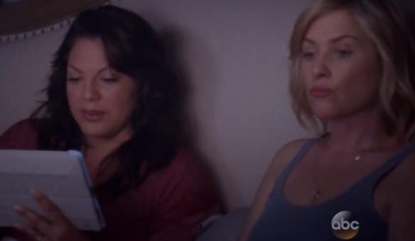 Callie & Arizona (Grey's Anatomy) - Season 10, Episode 21 (Part 1)
