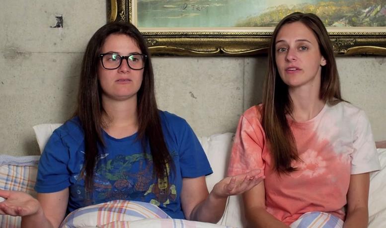 The Gay Women Channel - Pillow Talk - Lesbian Threesomes