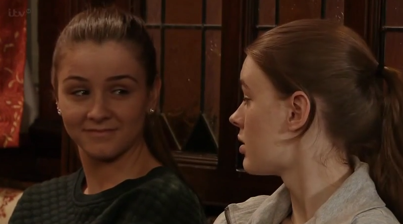 Sophie & Maddie (Coronation Street) - 6 February 2015