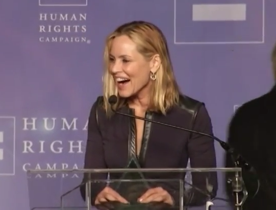 Maria Bello Receives the HRC Equality Award