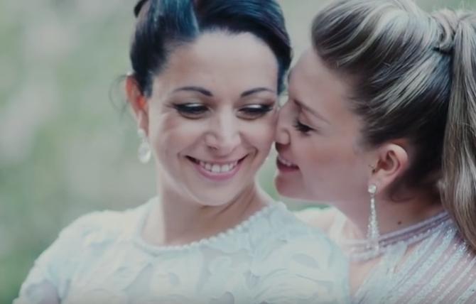 Ori & Shani   Lesbian Jewish wedding from Tel Aviv, Israel