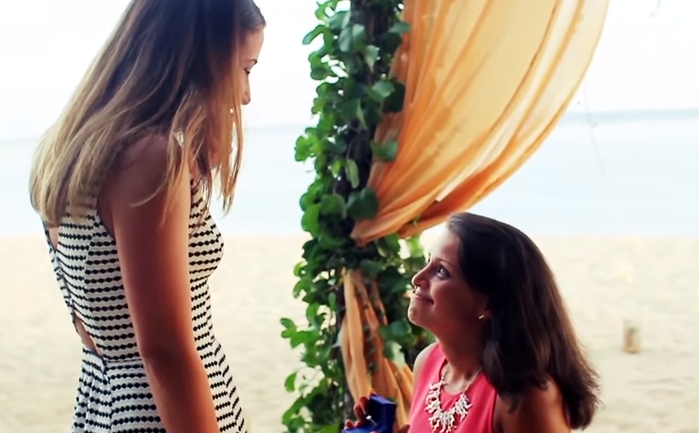 Sara & Dani - Romantic Surprise Proposal In Bali