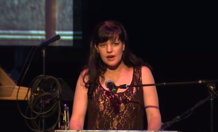 Pauley Perrette gets emotional talking about LGBT youth at AEWW 2016