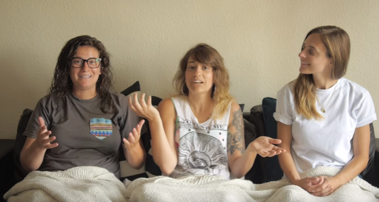 The Gay Women Channel - Pillow Talk - Lesbian Turn Ons Part 2 - Ft. Arielle Scarcella