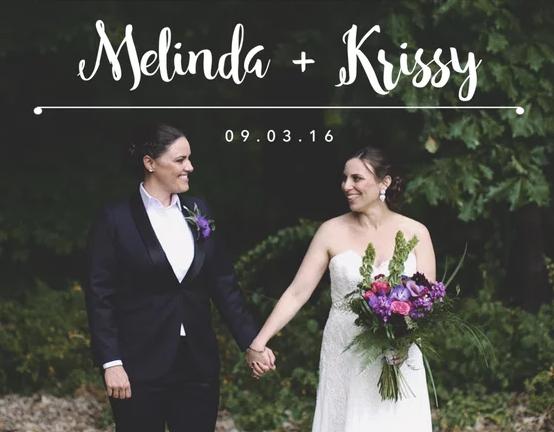 Melinda & Krissy - Wedding Highlights