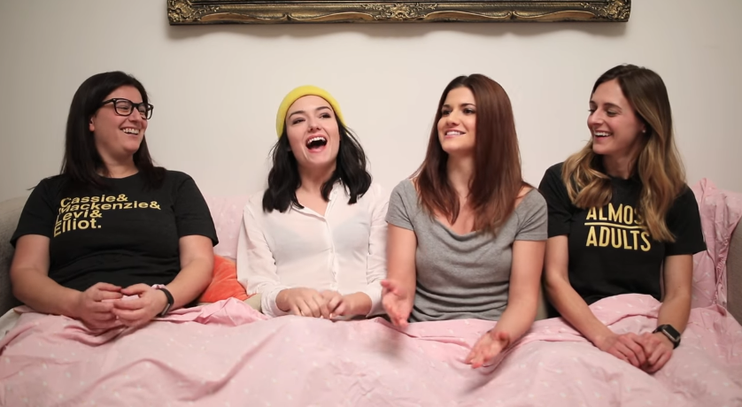 The Gay Women Channel - Pillow Talk - Truth or Dare w/ Natasha & Elise (Part 1)