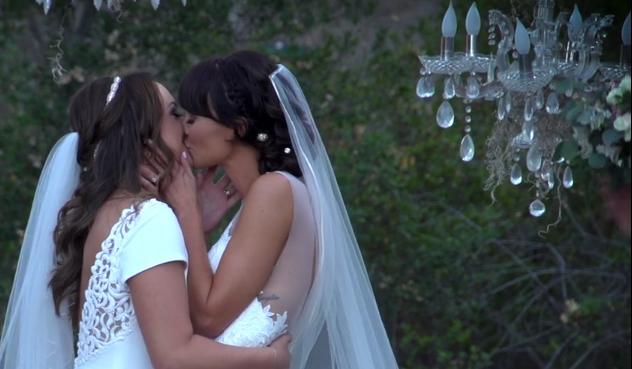 Chelsea & Katie - Retro Ranch Wedding