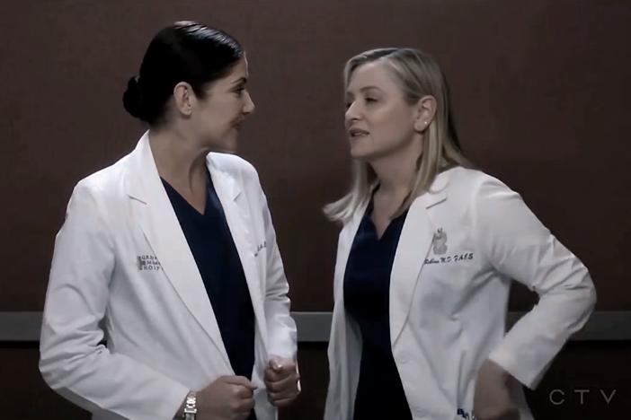 Arizona & Eliza (Grey's Anatomy) - Teenage Dream