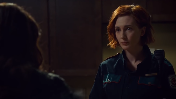 Waverly & Nicole (Wynonna Earp) – Season 2, Episode 4